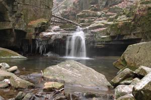 Waterfall of Satina brook