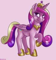 Princess Cadance (Princess Mi Amore Cadenza) by DukevonKessel