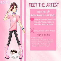Meet the Artist 2019! by Revy-oli