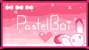 F2U Pastel Boi Pixel Stamp Page Decor Divider