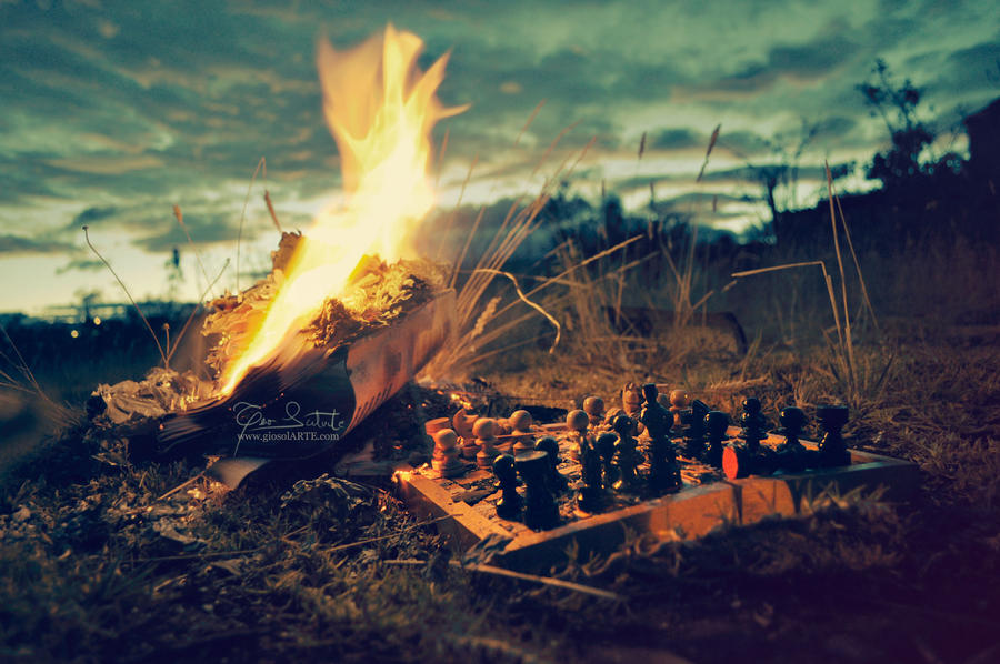 Last World War - check mate by giosolARTE