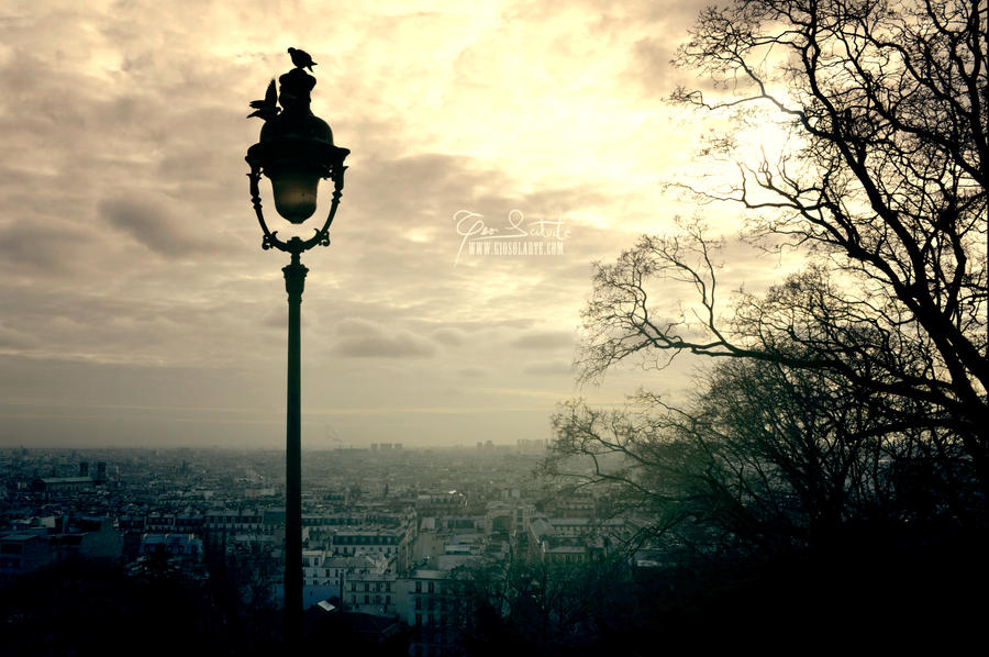 Montmartre -- Paris by giosolARTE