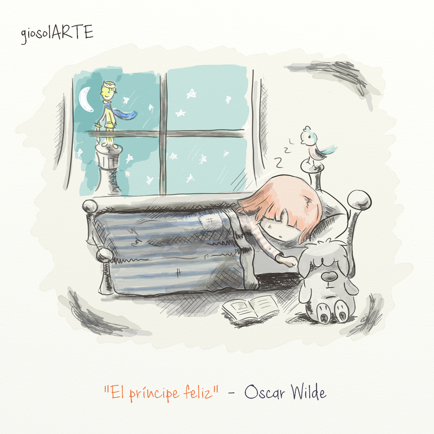 The happy prince - Oscar Wilde by giosolARTE