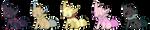Fox Batch 1 - (3/5 OPEN) by SummeroftheAdopts