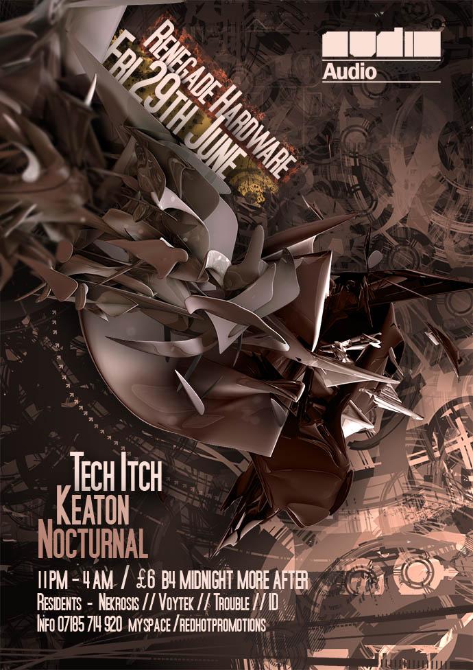 Nightclub Flyer Design by keekoo