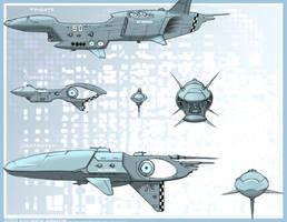 Black Nova Airships by Zando-Zennek