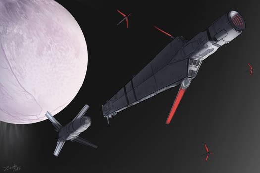 Rendezvous over Enceladus