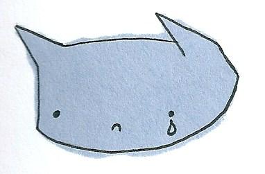 Sad kitty is sad by Demonkitty66
