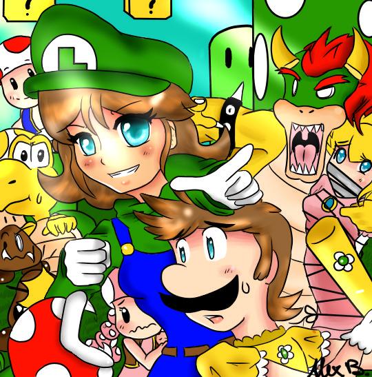 Princess Daisy And Luigi Wedding