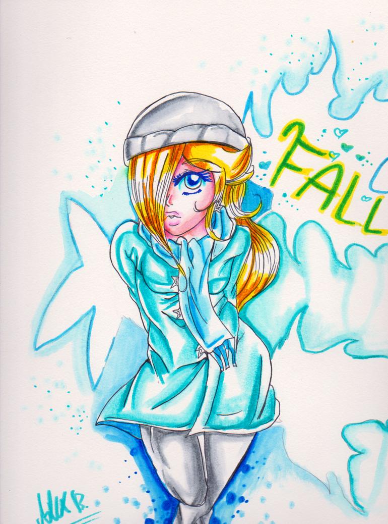Fall Rosie by megadaisy1