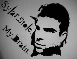 Sylar Stencil by findar