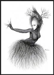 Priestess IV by faeorain