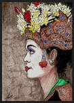 Balinese Girl - ATC