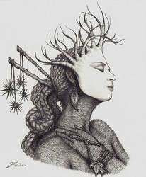 Earth Goddess - Cait by faeorain
