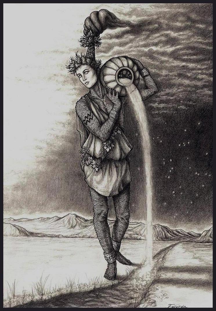 Aquarius by faeorain