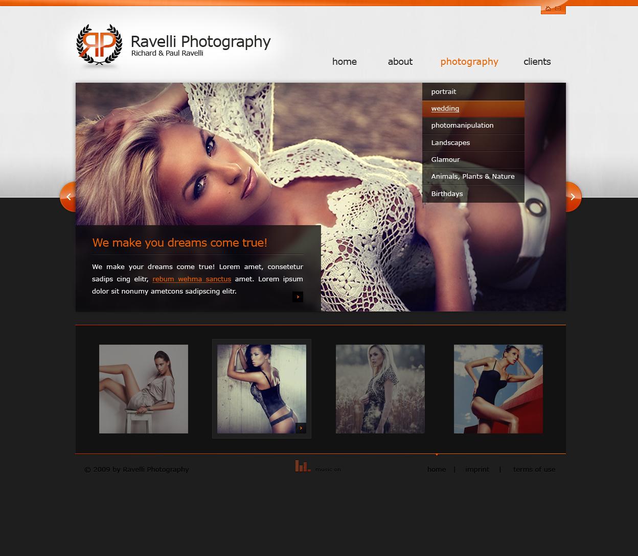 simple portfolio by Torsten85