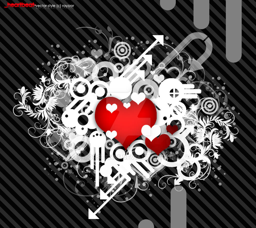 Wallpaper: heartbeat by Torsten85