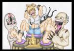 Monstrous Tickle Torture