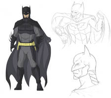 Batman 1.0 by DarkDragon1010