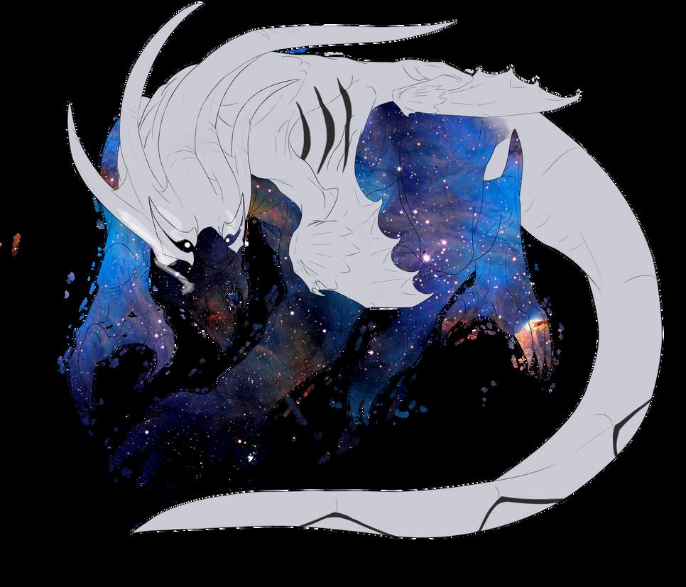 Gift Art- Mors Albas by DarkDragon1010