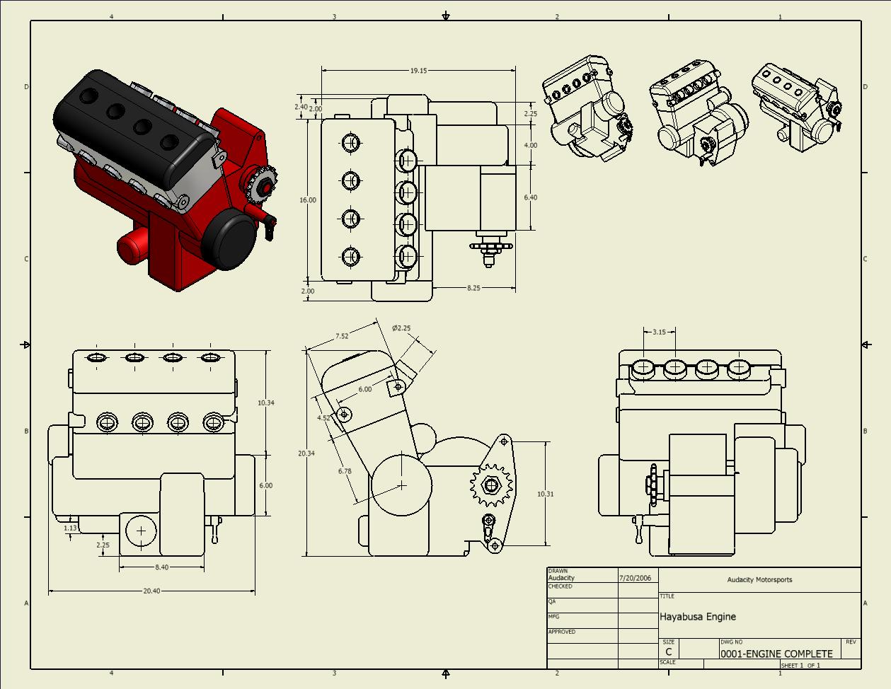 Motor Suzuki  Gsxr Dimensions