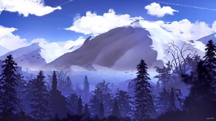 Cold Mountain by SnekkestSnek