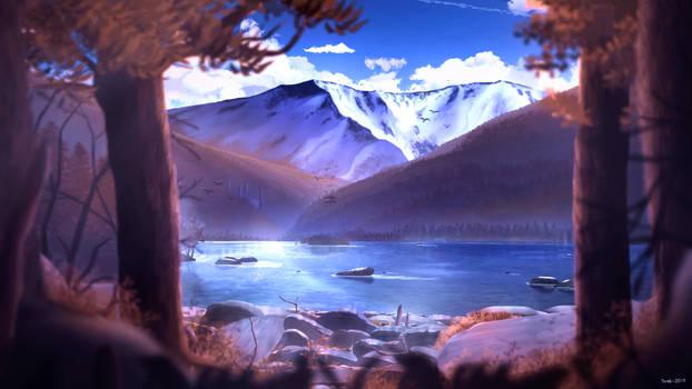 Autumn National Park by SnekkestSnek