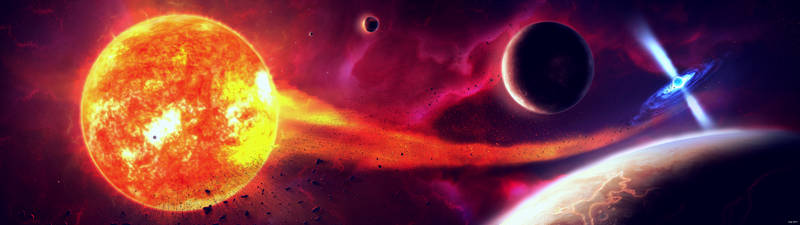 Cataclysmic Variable Star by JellySnek