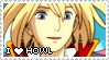 HMC Stamp Series - Howl by mello-sama