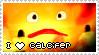 HMC Stamp Series - Calcifer by mello-sama