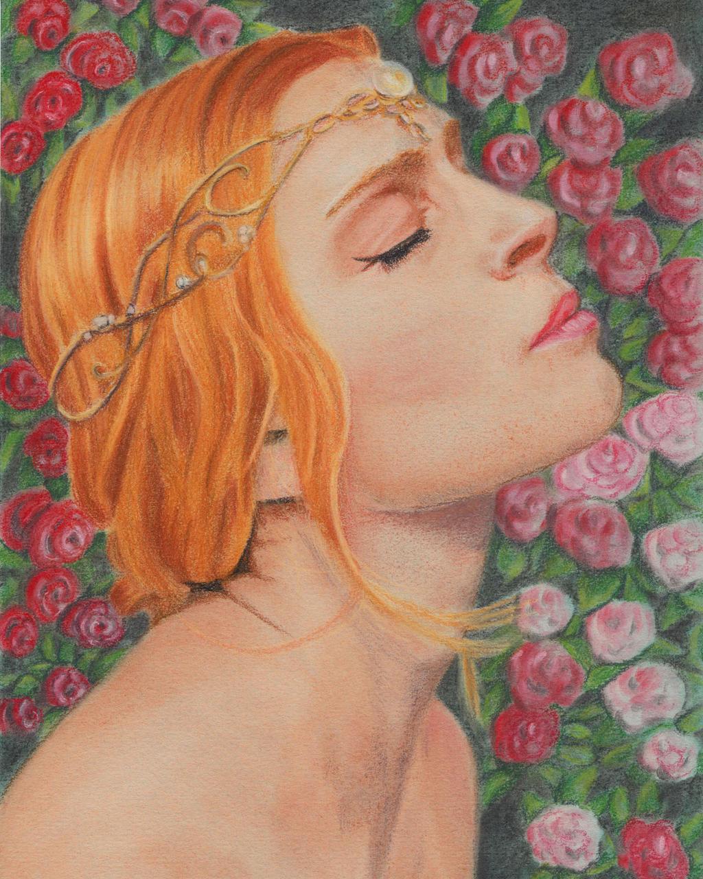 Gentleness Of A Rose by morrigan-moon