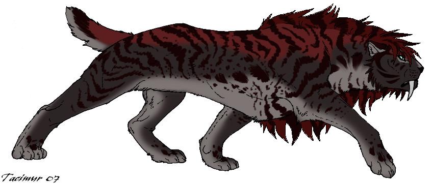 Smilodon Face By Pyroraptor42 On Deviantart: Saber Cat Point Adopt 7 GONE By Kasara-Designs On DeviantArt