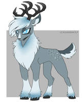 MLP Deer Adopt Auction 2 GONE by Kasara-Designs