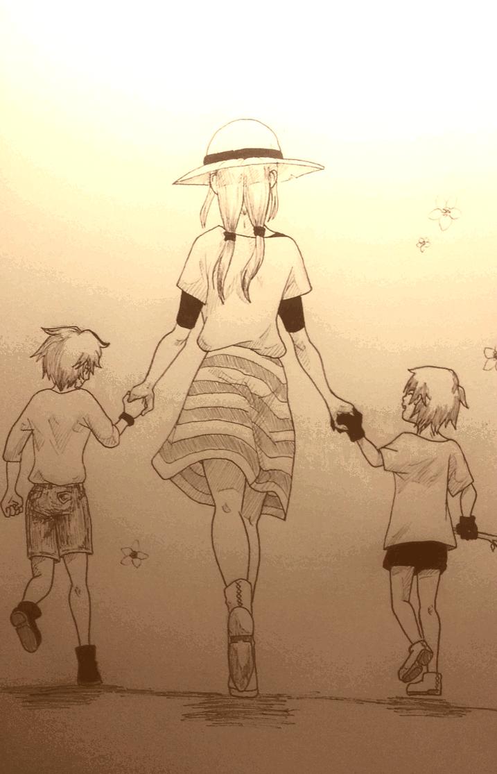 When all was beautiful by KuroHaine