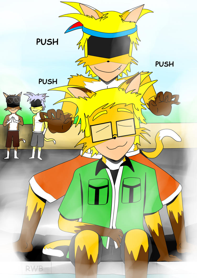 Push Push Push by GlindingMan
