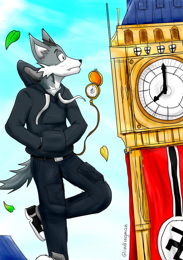 Time Traveler by GlindingMan