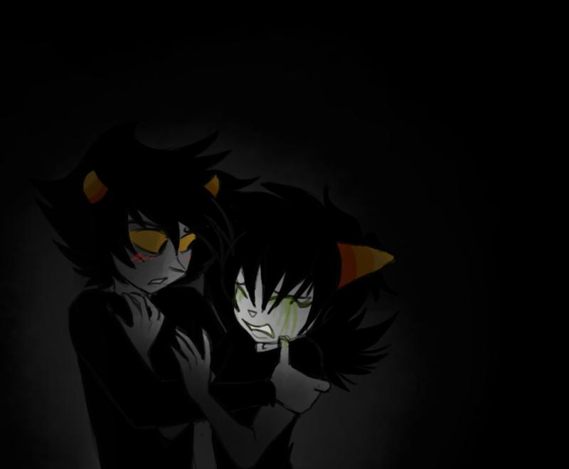 .-: Afraid of the Dark :-. by Faustisse