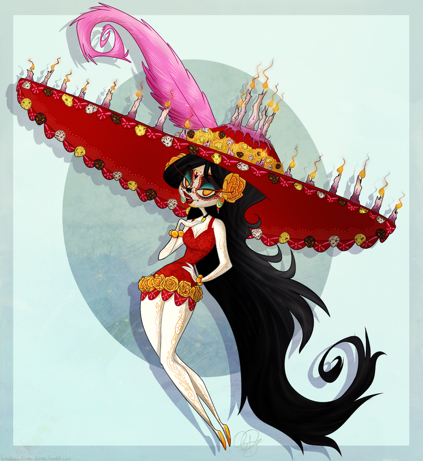 Character Design Book Of Life : Pin up of life by faustisse on deviantart