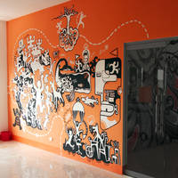 Mural painting - FPTArenaII by HiepHD