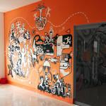 Mural painting - FPTArenaII