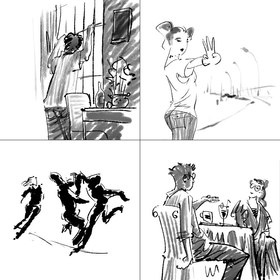 Quick sketches by HiepHD