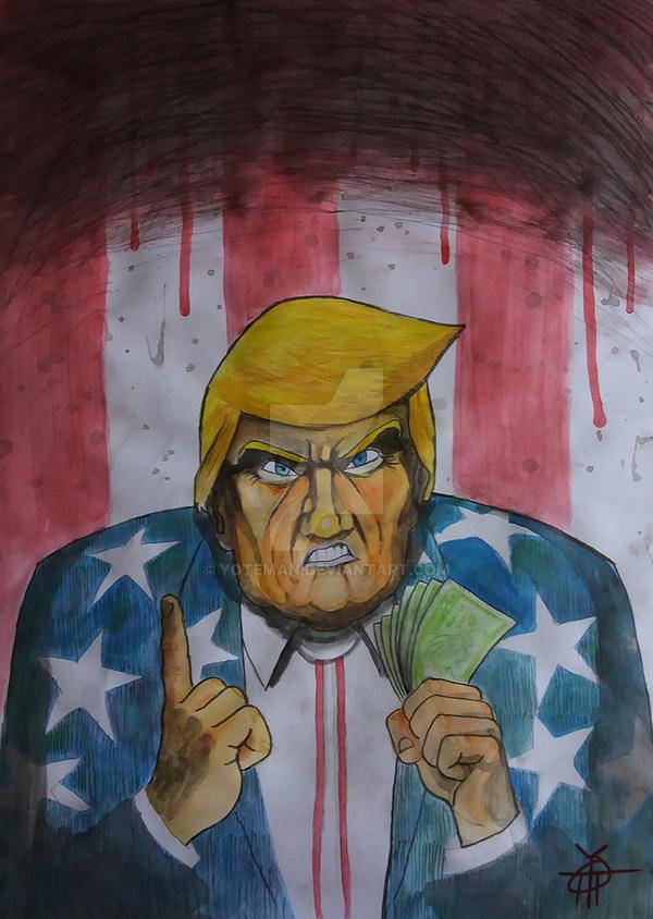 Donnie boy Trump hate us by YoteMan