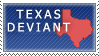Texas Deviant stamp by Ursa-Bear
