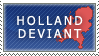 Holland Deviant Stamp by Ursa-Bear