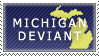 Michigan Deviant Stamp by Ursa-Bear