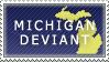 Michigan Deviant Stamp by Ursa-Bear