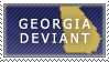Georgia Deviant Stamp by Ursa-Bear
