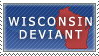Wisconsin Deviant Stamp by Ursa-Bear
