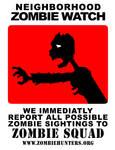 Neighborhood Zombie Watch