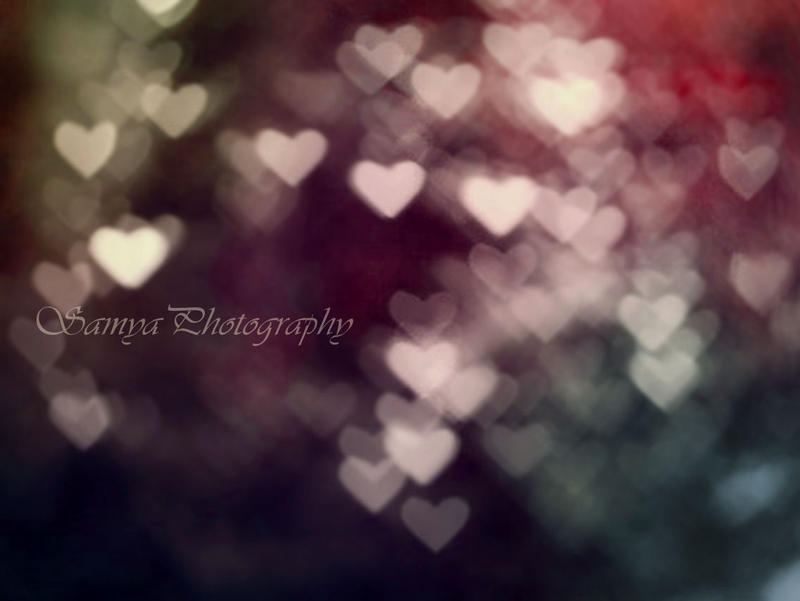 Heart Bokeh by Bluetenzauber